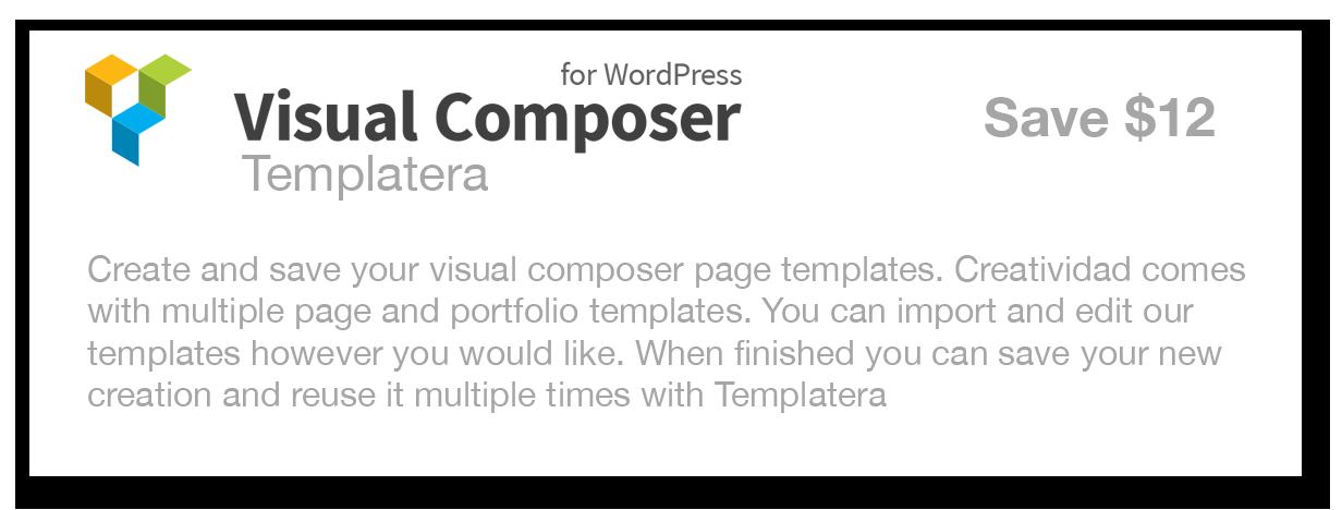 Visual Composer Templatera